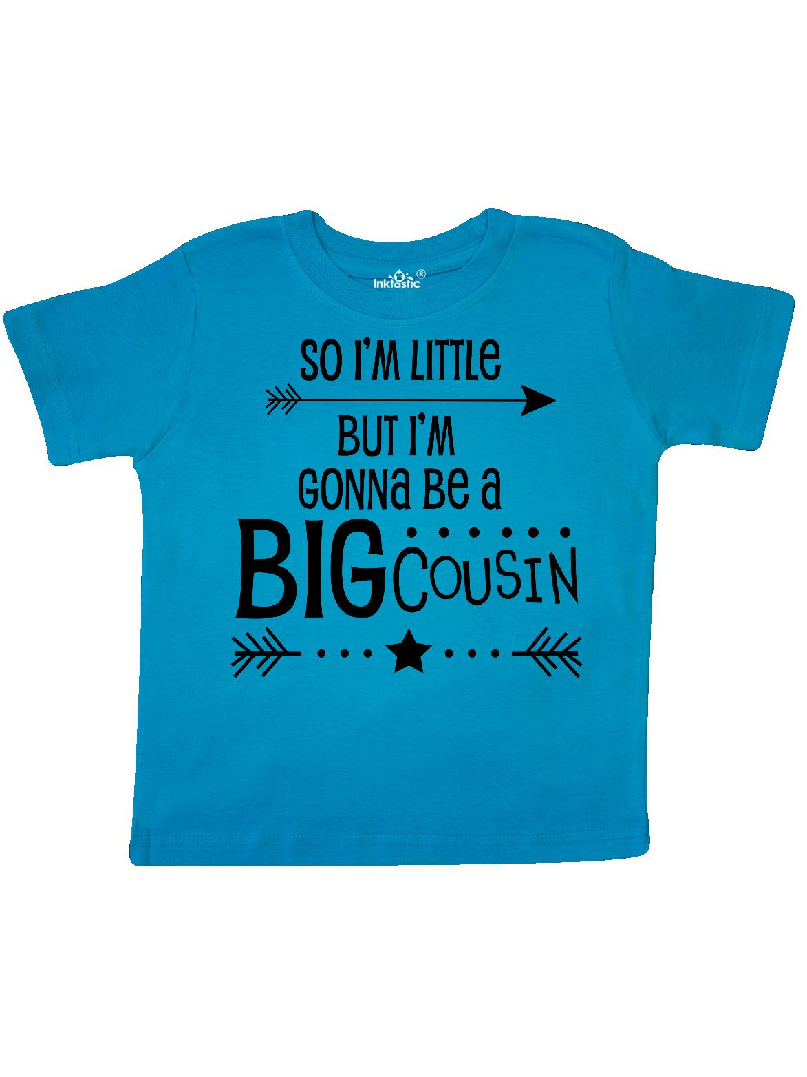 So I'm Little, But I'm Gonna Be a Big Cousin Toddler T-Shirt