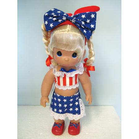 Precious Moments Disney - Precious Moments Disney Born In The USA Blonde 12