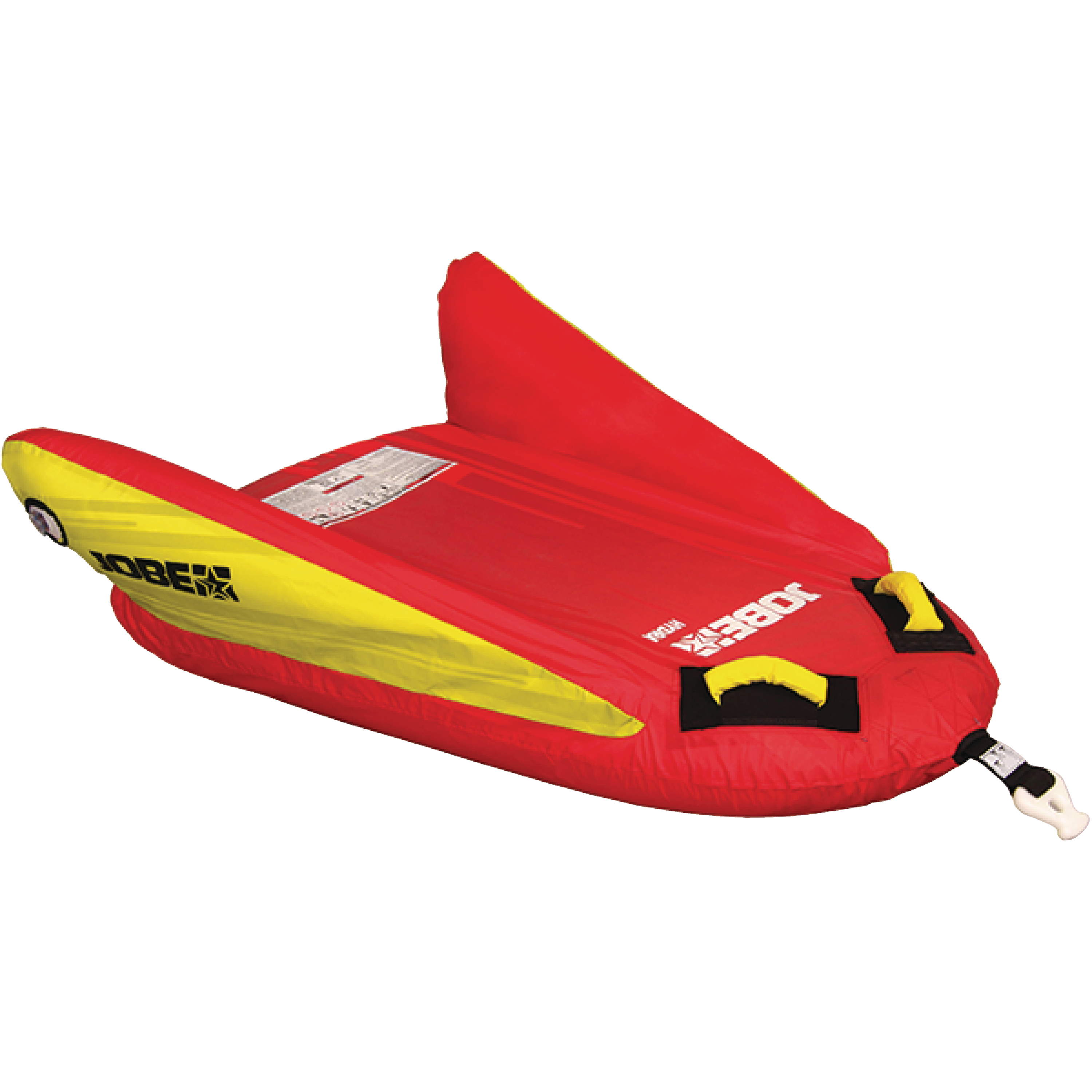 Jobe 230118003 Hydra Red 1-Person Rider Inflatable Towable