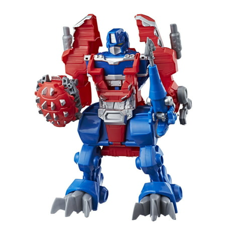 Playskool Heroes Transformers Rescue Bots Knight Watch Optimus Prime (Rescue Bots Party Supplies)