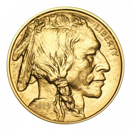 - 2019 1 oz Gold Buffalo Coin BU