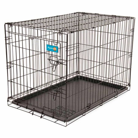 Aspen Pet Home Training 43  Wire Kennel  90 125 Lbs