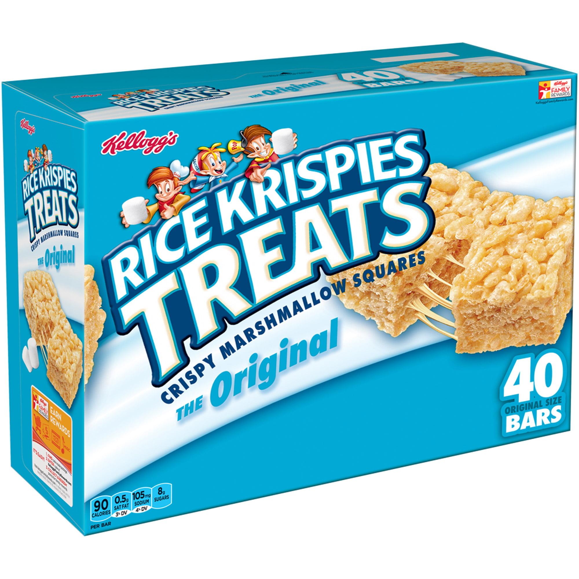 Kellogg's Rice Krispies Treats Marshmallow Squares 31.2 Oz