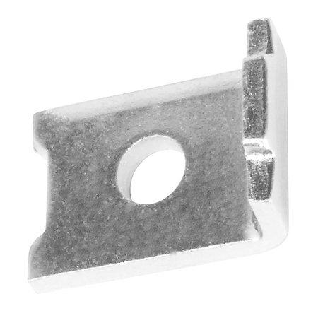 - 5 Pcs, Strut to Beam Clamp Notched, 1-5/8 In. Wide X 1/4 In. Thick, Zinc Plated Steel to Securely Fasten Strut to Beam Surface