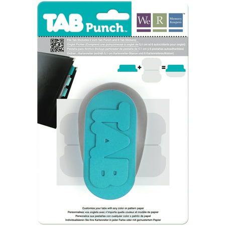 Tab Punch, File, 2""