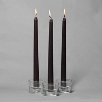 "Richland Taper Candles 10"" Light Blue Set of 10"