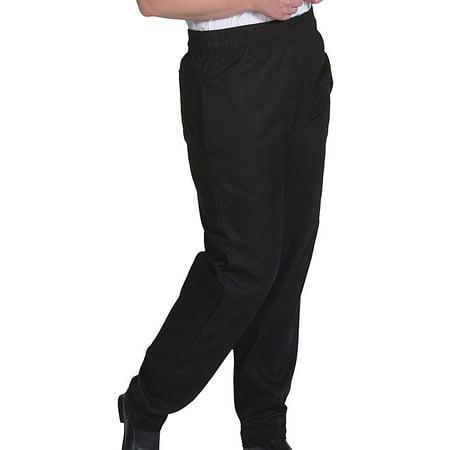 Edwards Garments Men's Elastic Waistband Baggy Chef Pant