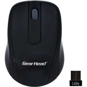 NWL OPTICAL MICE BLACK W/ SILVERACCENTS 2.4GHZ