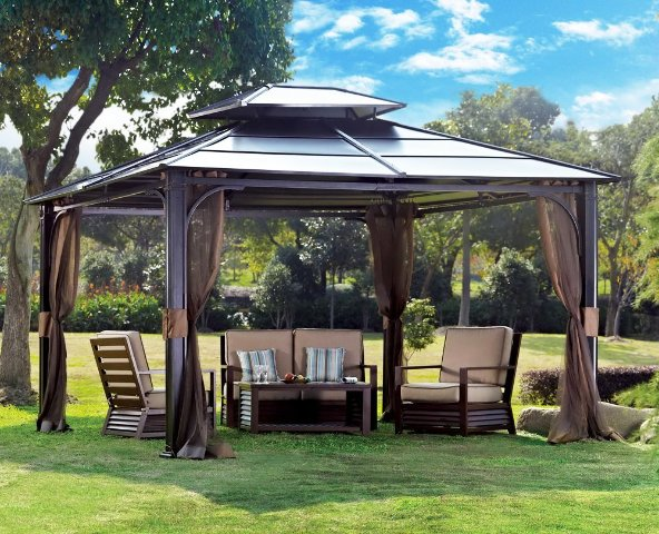 10 x 12 Chatham Steel Hardtop Gazebo by