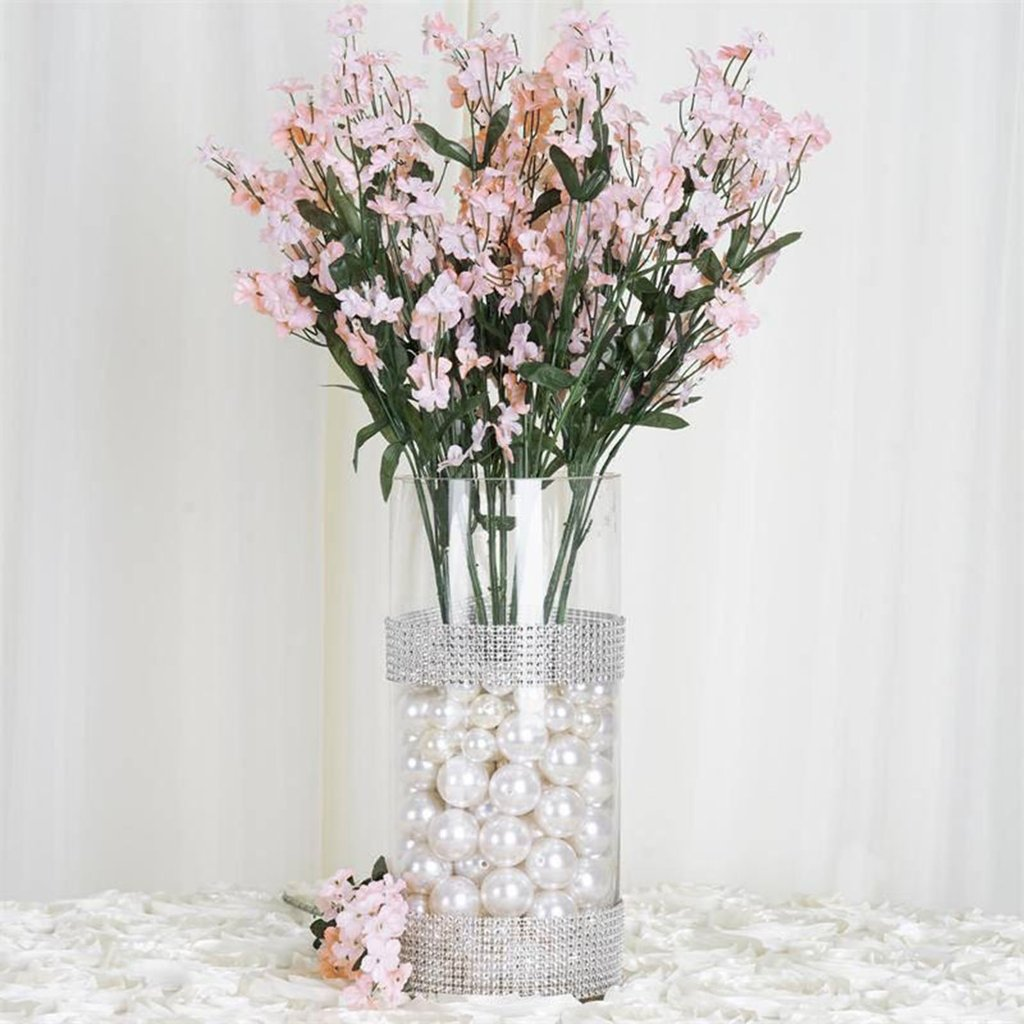 Efavormart 12 bushes baby breath artificial filler flowers for diy efavormart 12 bushes baby breath artificial filler flowers for diy wedding bouquets centerpieces arrangements party home decoration walmart izmirmasajfo