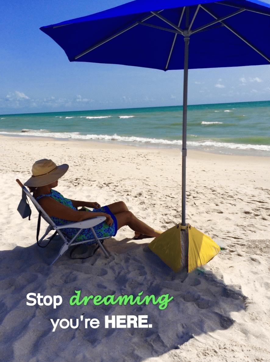 beachBUB All-In-One Beach Umbrella System (includes BUBrella, beachBUB Base & Accessory... by beachBUB USA