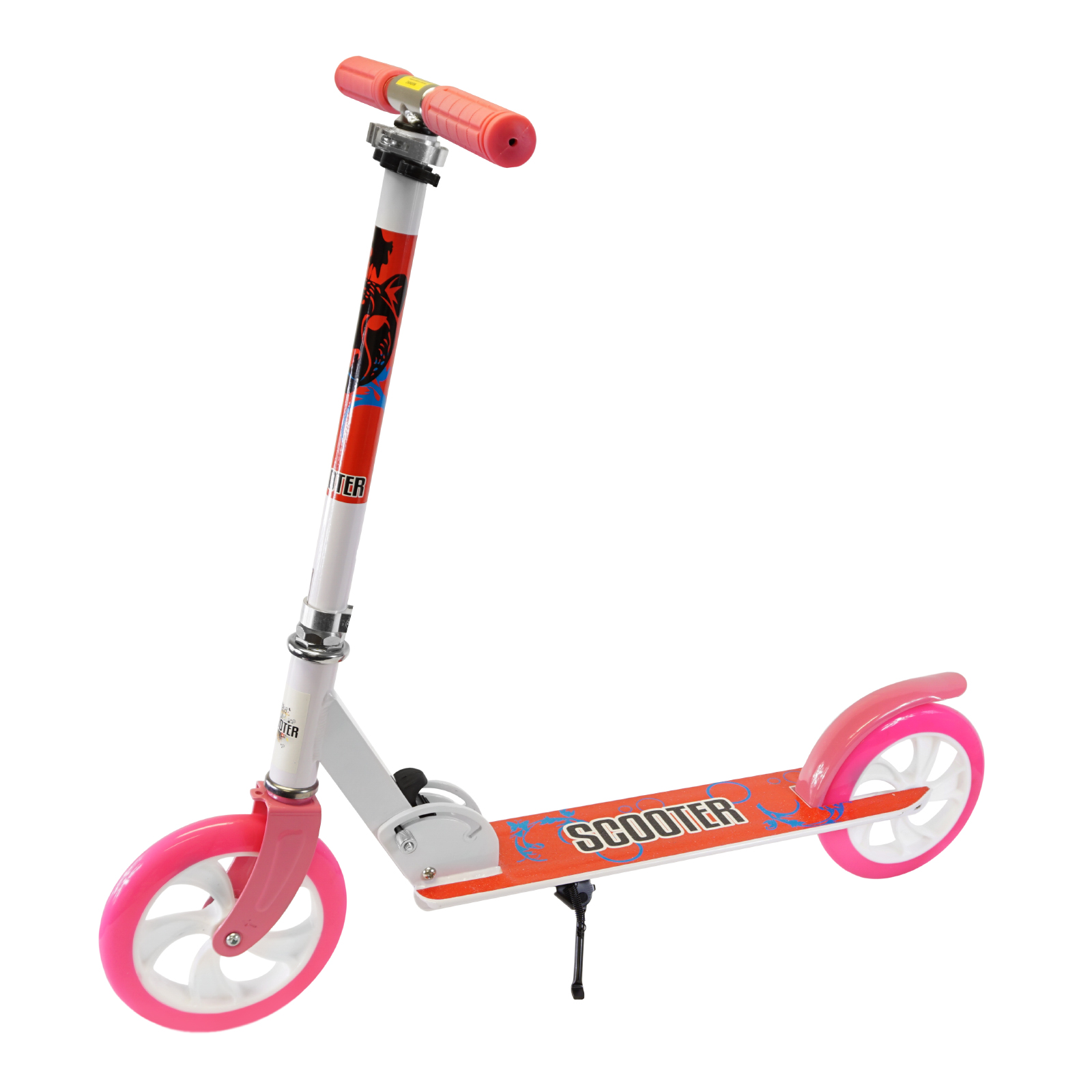 Adjustable Folding Metal Kids Teen Push Kick Scooter by Scale Sports