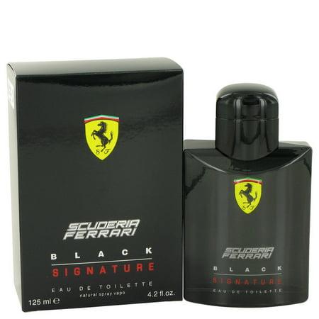Ferrari Ferrari Scuderia Black Signature Eau De Toilette Spray for Men 4.2 oz