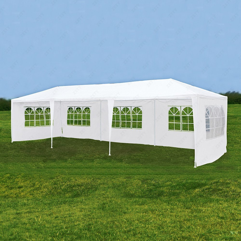 10u0027x30u0027 Canopy Party Wedding Tent Outdoor Gazebo Heavy Duty Pavilion Event & Party Tents