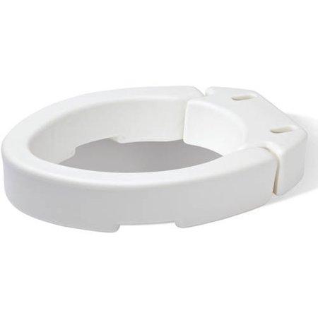 Hinged Toilet Seat Riser Elongated Walmart Com