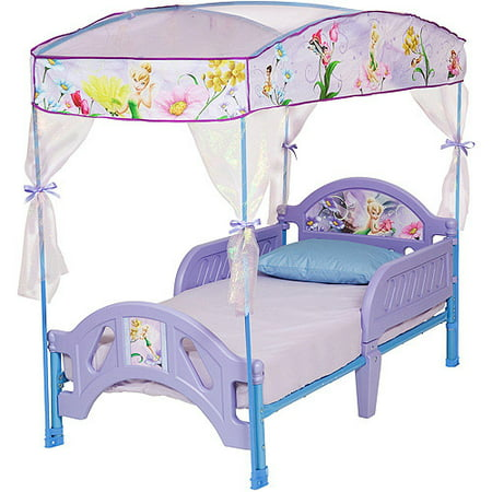 Disney TinkerBell Fairies Toddler Canopy Bed