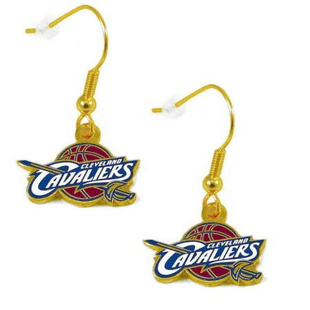 Cleveland CAVS Cavaliers Dangle Logo Earring Set NBA Charm - Mrs Earrings