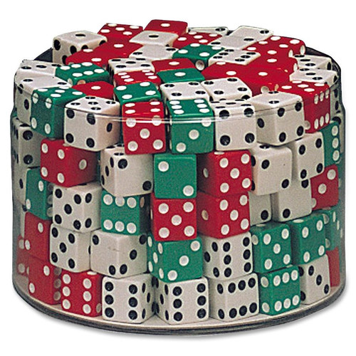 Chenille Kraft Company Drum of Dice