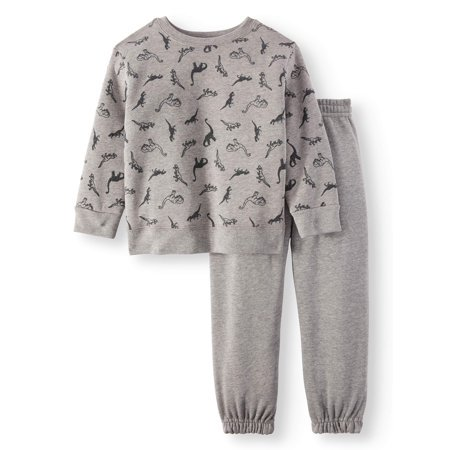 Garanimals Graphic Sweatshirt & Sweatpants, 2pc Outfit Set (Toddler Boys) for $<!---->
