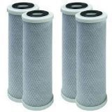 4 Pack of Compatible Filters for SHURflo 25568143 Replacement Filter Cartridge by CFS