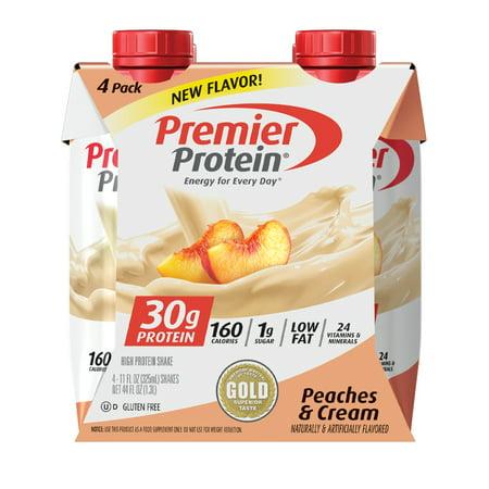 Premier Protein Shake - Peaches n Cream - 11 fl oz/4pk
