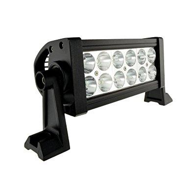 AutoLink LED 36W High Power Work Light Lamp - For Off Road, Truck, Boat, ATV, Tractor, 4x4, Construction, and More - Super Bright 2520 Lumen Waterproof Spot Work Light, 30000 Hour Life