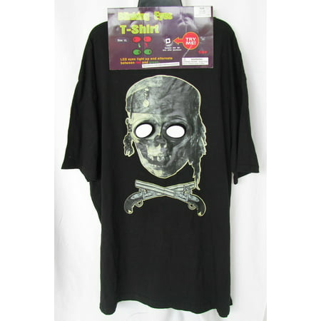 Blink 182 Halloween Shirt (Men 'Blinking Eyes T-Shirt' Adult)