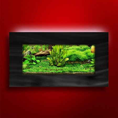 Vandue Aussie Aquariums 2.0 Wall Mounted Aquarium - View brushed
