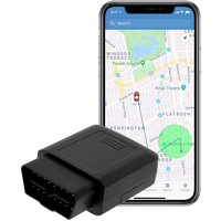 Lightning GPS 4G OBD-II Plug-In Real-Time GPS Vehicle Tracker for Fleet, Vehicles, Children, Teens, Elderly, Valuables, Cars