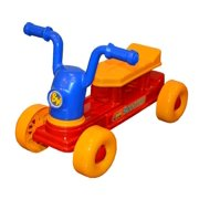 Back Bay Play My First Big Wheel Scooter for Kids - Cruiser Ride-on Toys for Boys & Girls -Toddlers 1 to 3 Years of Age - Durable Indoor/Outdoor Toys - Made in USA