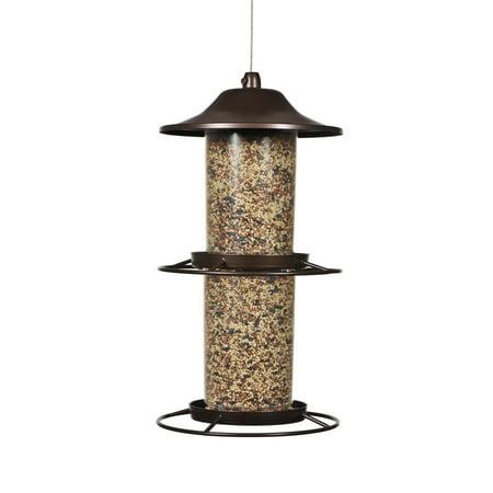 Perky-Pet 4.5 lb Panorama Wild Bird Feeder ()