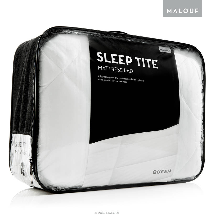 Sleep Tite Quilted Mattress Pad, Filled with Gelled Microfiber by CVB Inc.