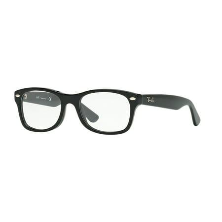 78fab6b4dd ... Ry 1528 3542 Black Plastic Childrens Eyeglasses UPC 713132438244  product image for Ray-Ban Junior Vista 0RY1528 Square Eyeglasses for Youth  ...