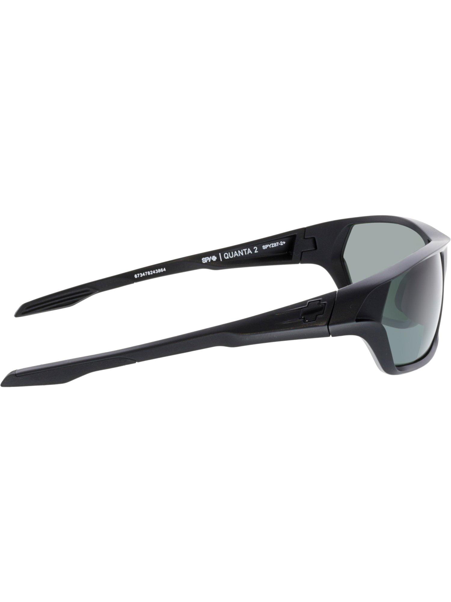7cc3808422b Spy - Spy Men s Polarized Ansi 673478243864 Black Rectangle Sunglasses -  Walmart.com