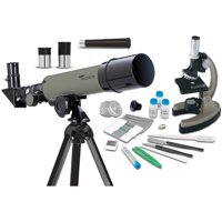 Educational Insights GeoSafari Telescope and Microscope Set