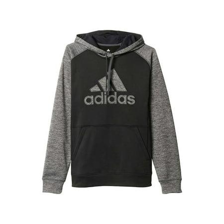Adidas Men Team Issue Fleece Pull Over Hoodie