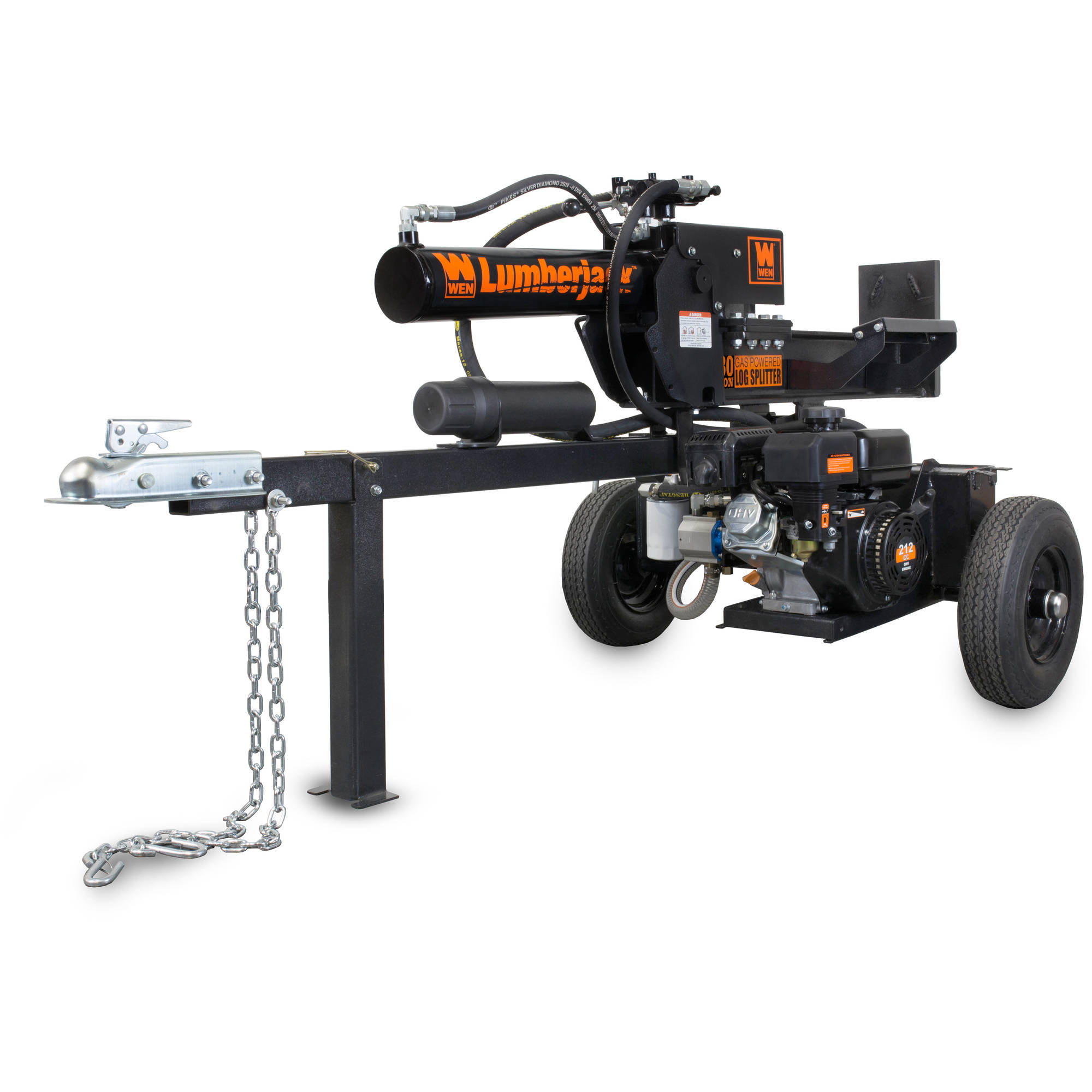 WEN Lumberjack 30-Ton Gas-Powered Log Splitter by WEN