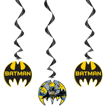 Batman Hanging Decorations, 26 in, 3ct