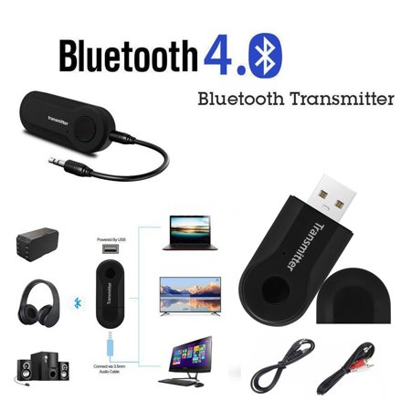 USB Wireless BT4.0 Transmitter Stereo Audio Music Adapter for TV Phone PC