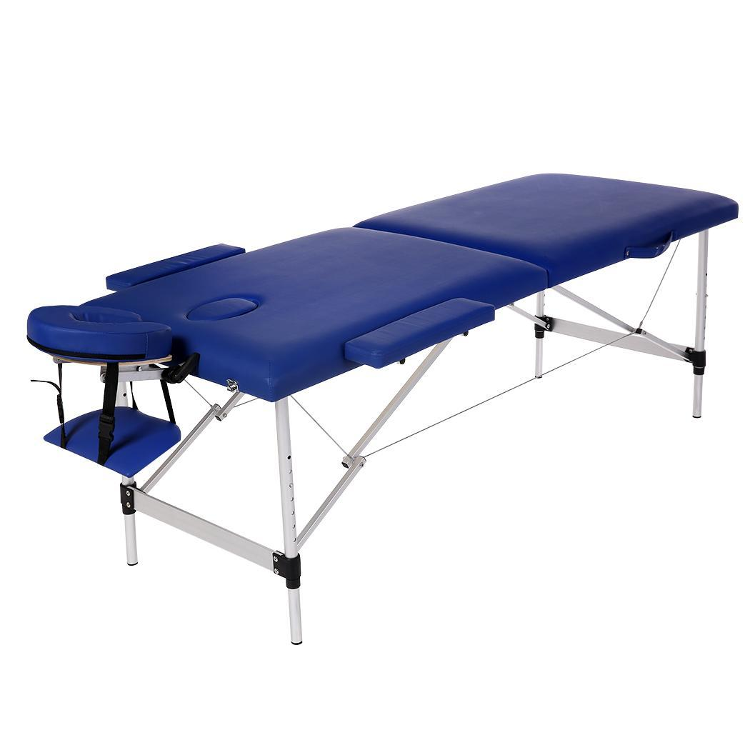Elecmall Folding Pad Chair Bed Spa Facial Massage Table C...