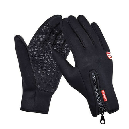 Women Men Ski Gloves Snowboard Gloves Motorcycle Riding Winter Touch Screen Snow Windstopper Glove Size