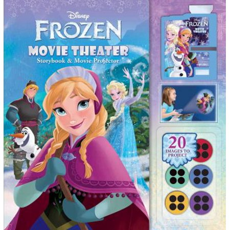 Disney Frozen Movie Theater  Storybook And Movie Projector