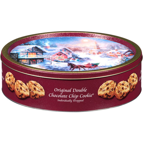 Original Gourmet Original Double Chocolate Chip Cookie Holiday Gift, 24 count, 21.6 oz