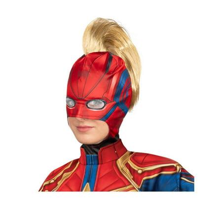 Halloween Captain Marvel Adult Headpiece with Mohawk - Egyptian Headpiece Halloween