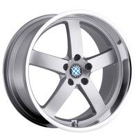Beyern Rapp 19x8.5 5x120 +30mm Silver Wheel Rim
