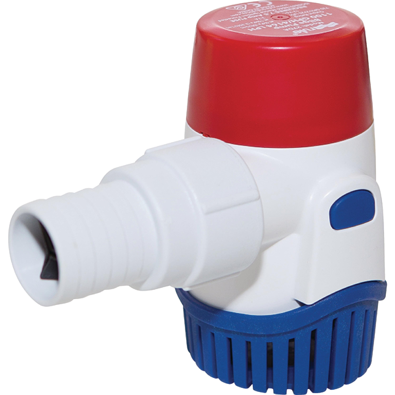 Rule 27DA 1,100 GPH 12V 3.7 Amp Submersible Bilge Pump by Rule Industries, Inc.