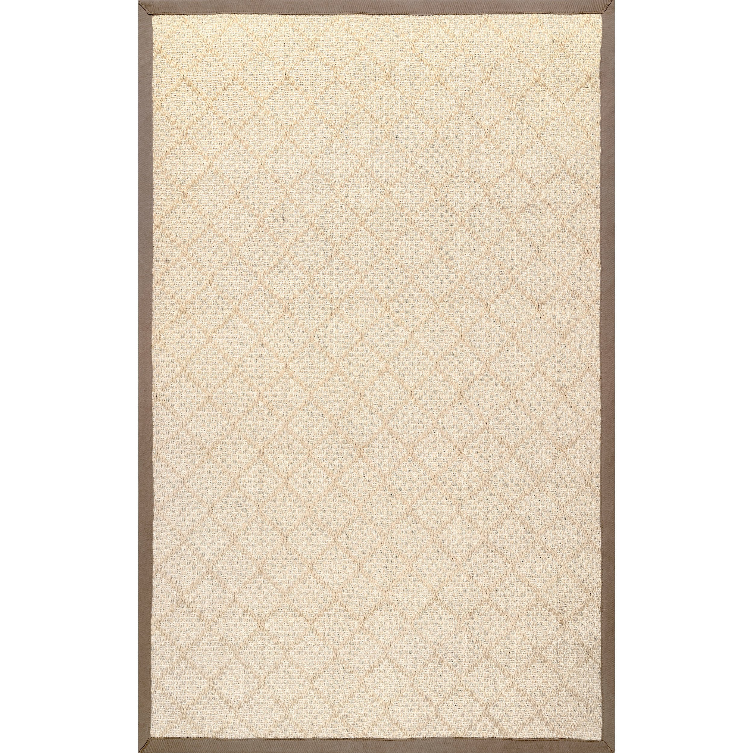Nuloom Sisal 9' X 12' Rectangle Area Rugs In Natural Finish 200ZHSS04A-9012