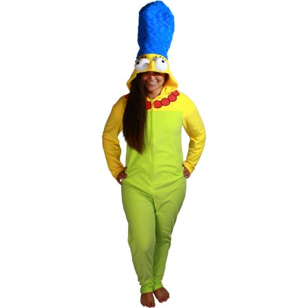 The Simpsons Marge Simpson Women's Cosplay Union Suit