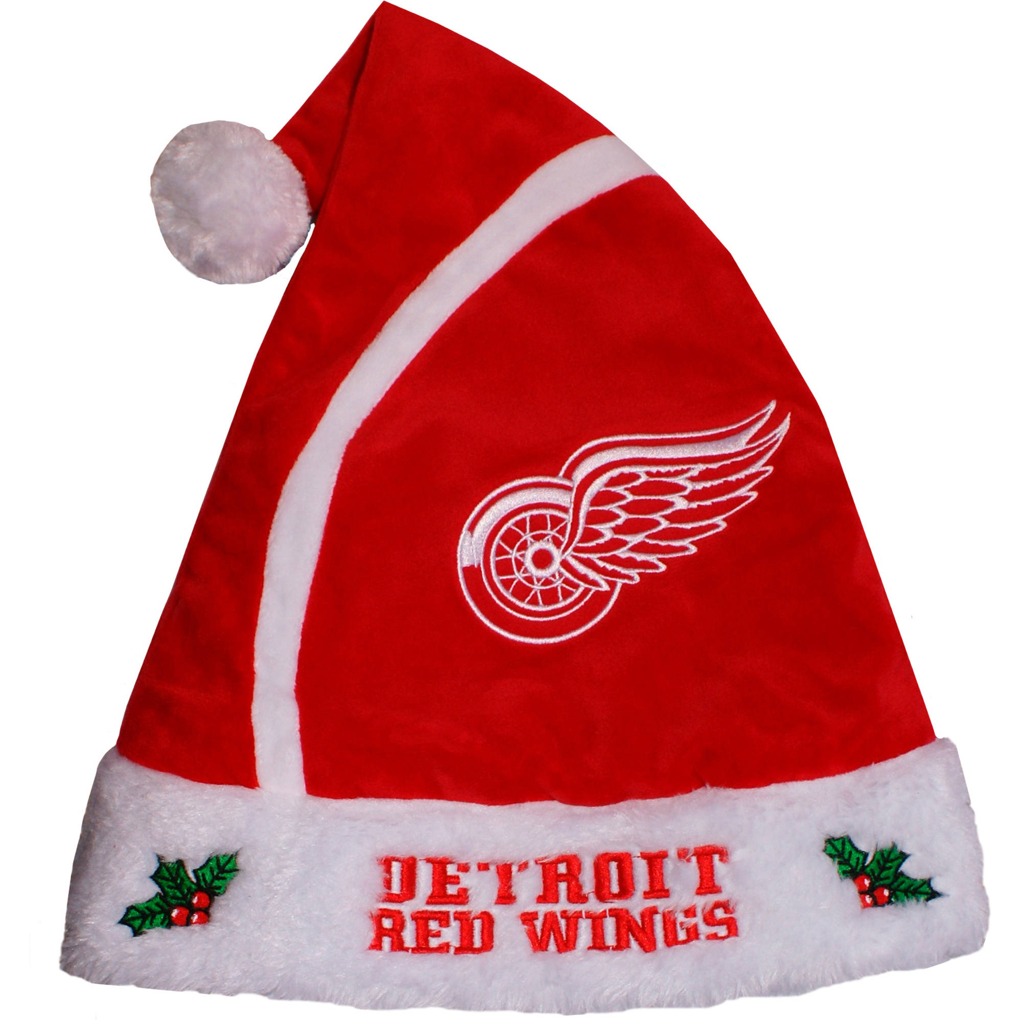 Forever Collectibles NHL 2015 Santa Hat, Detroit Red Wings