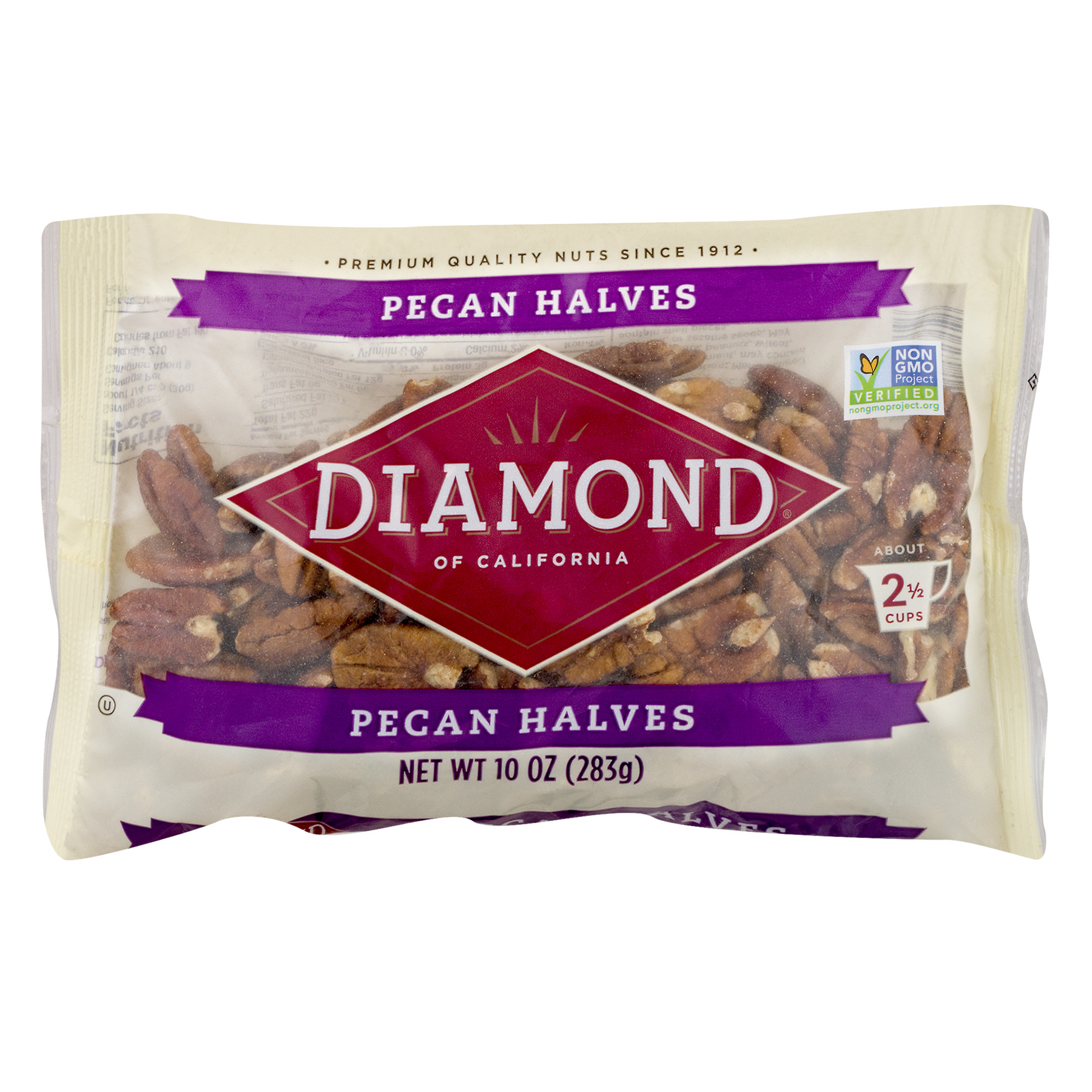 Diamond of California Shelled Pecans, 10 oz
